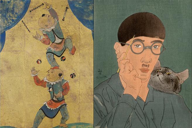 Foujita, peindre dans les années folles