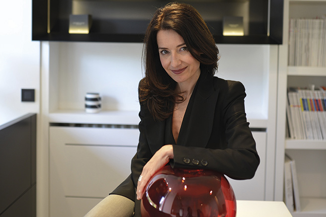 Christine Bodino invite Sarah Lavoine