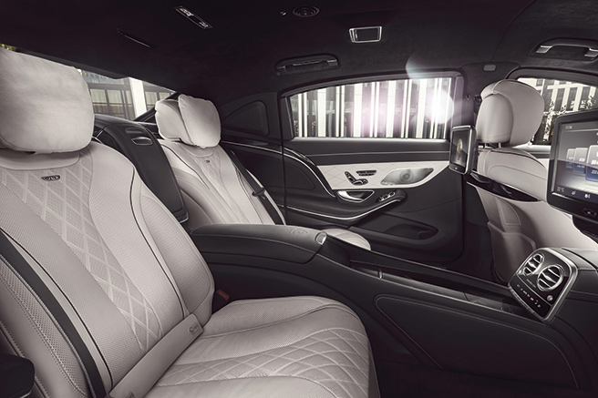 Mercedes S600 <br/>Maybach Guard
