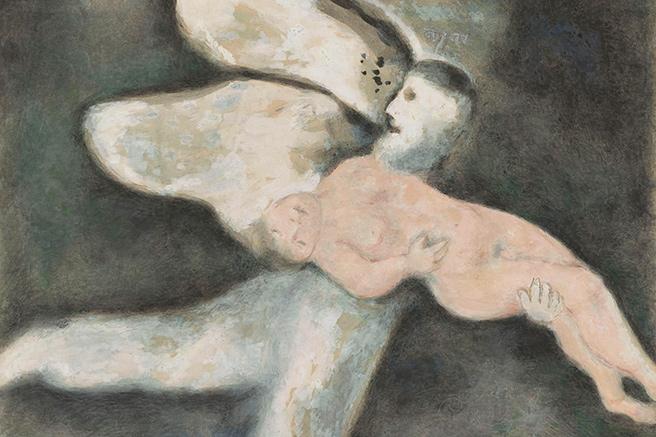 Chagall, un monde en apesanteur