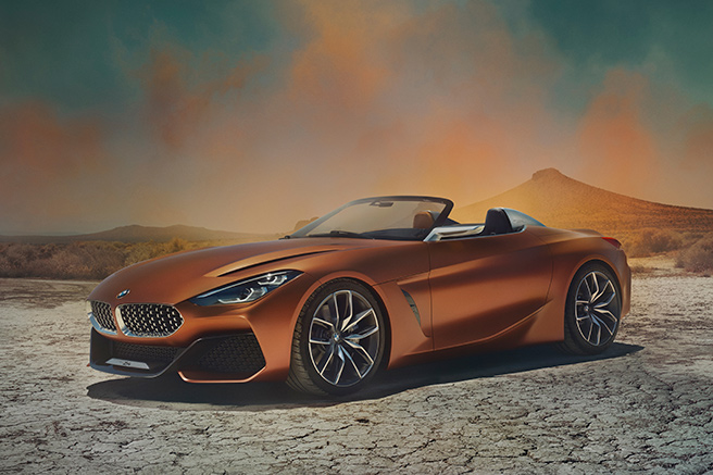BMW Concept Z4, power and a sporty character