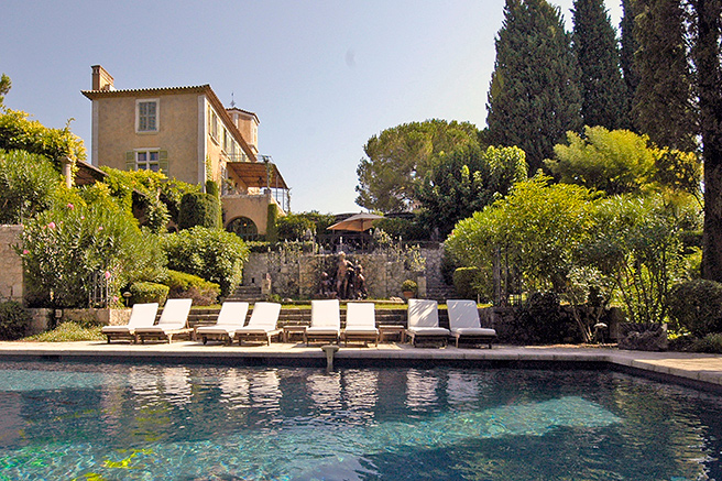 The bucolic charm of Saint-Paul-de-Vence