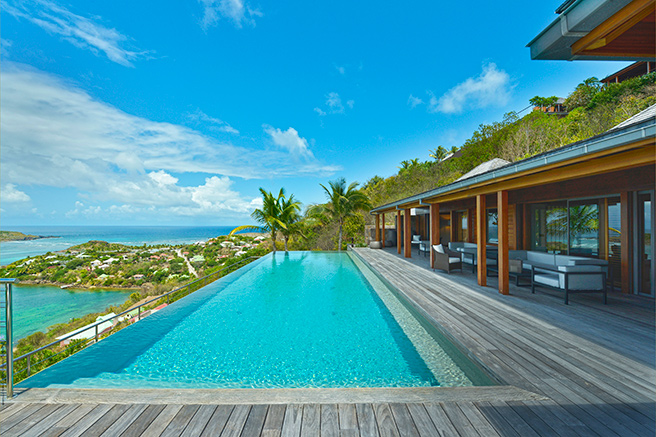 Une villa aux allures de paradis