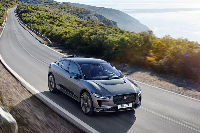 I-Pace, Jaguar's all-electric SUV