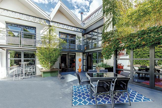 Une sublime maison loft à Lyon