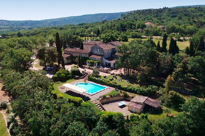 The regional nature park of the Luberon