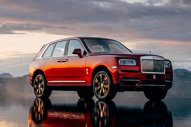 Rolls-Royce Cullinan, the cult of excellence