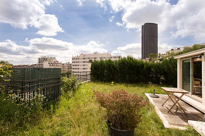 Penthouse : Paris vu d'en haut