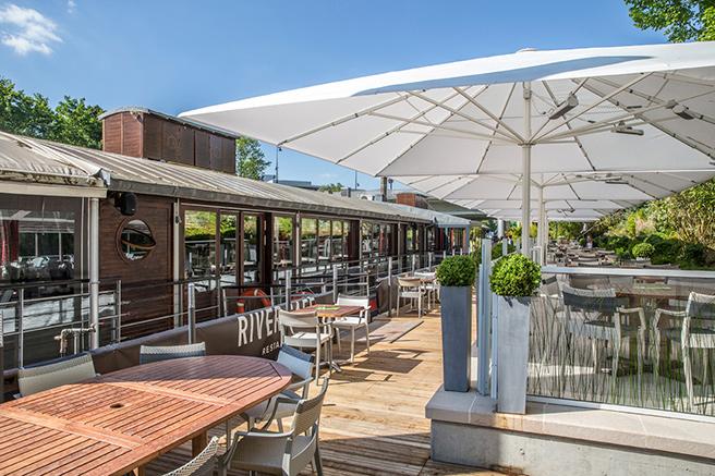 River Café : le bonheur en Seine