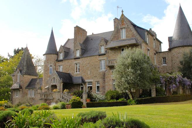 Un château en France, ô merveille !