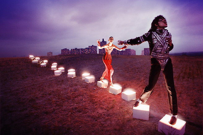 Michael Jackson, On the Wall