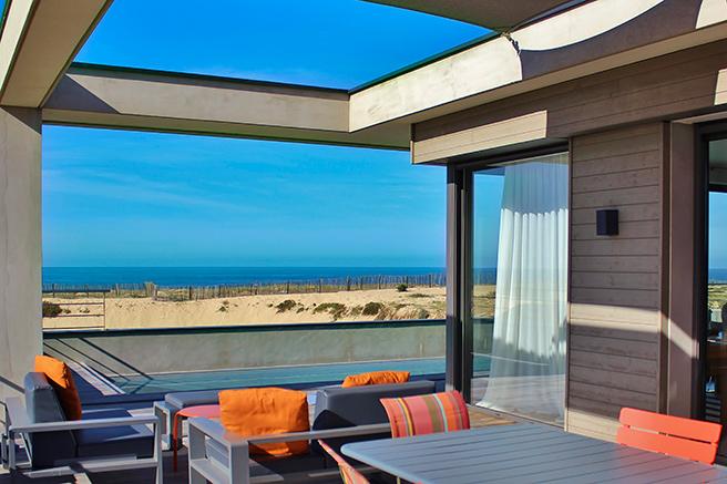 De Biarritz à Hossegor, les maisons face à l'océan