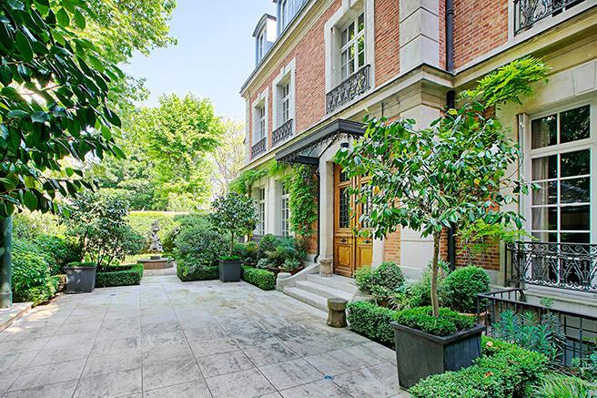 Un jardin à Paris