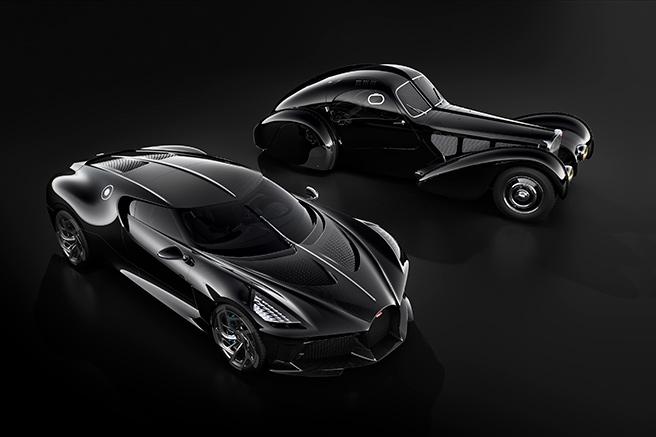 """La Voiture Noire"" by Bugatti"