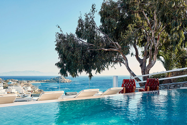 Aegean Sea, shore to shore