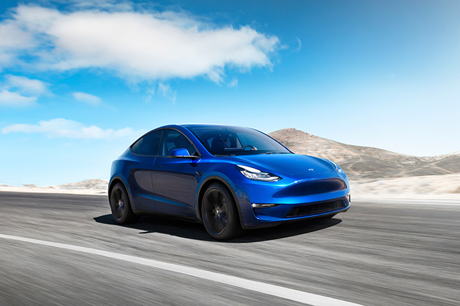 Tesla Model Y, top in terms of range