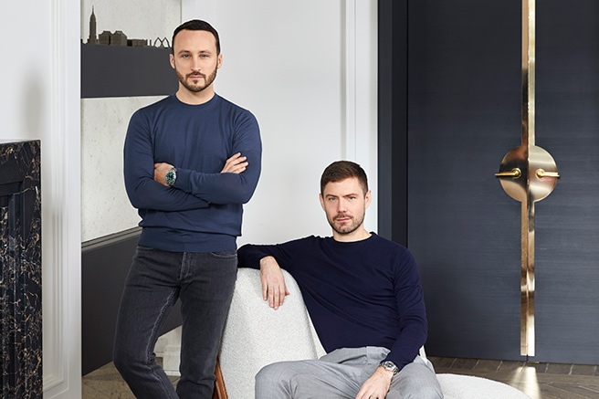 Humbert & Poyet : First furniture line