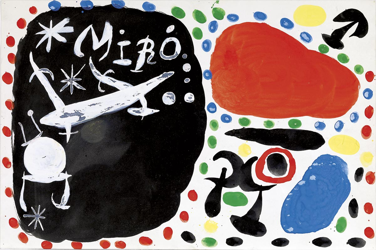 Joan Miró, beyond painting