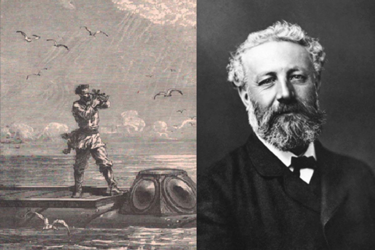 Jules Verne, from the abyss to the stars
