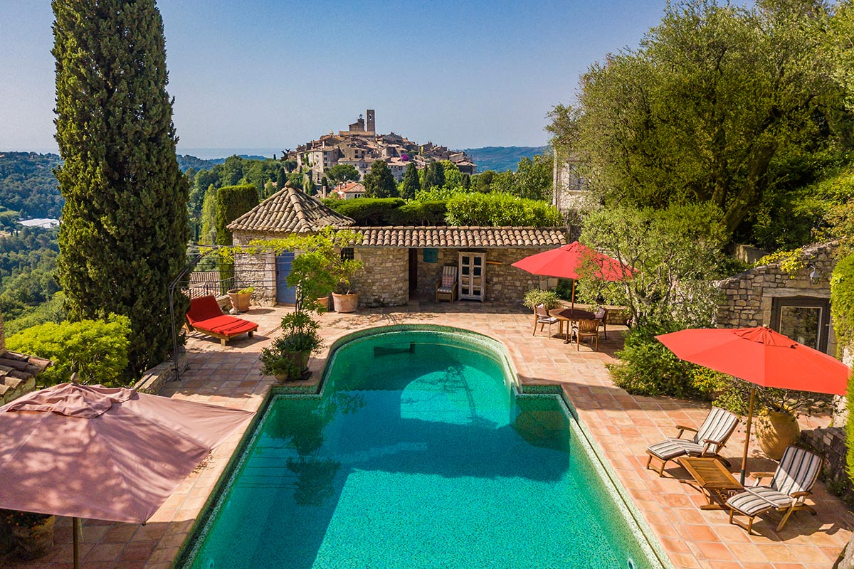 Saint-Paul-de-Vence, the promise of an idyllic lifestyle