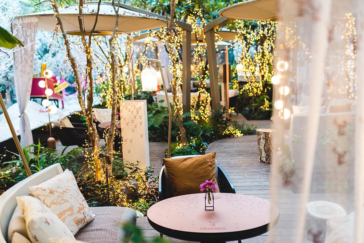 Le jardin d'hiver du Mandarin Oriental