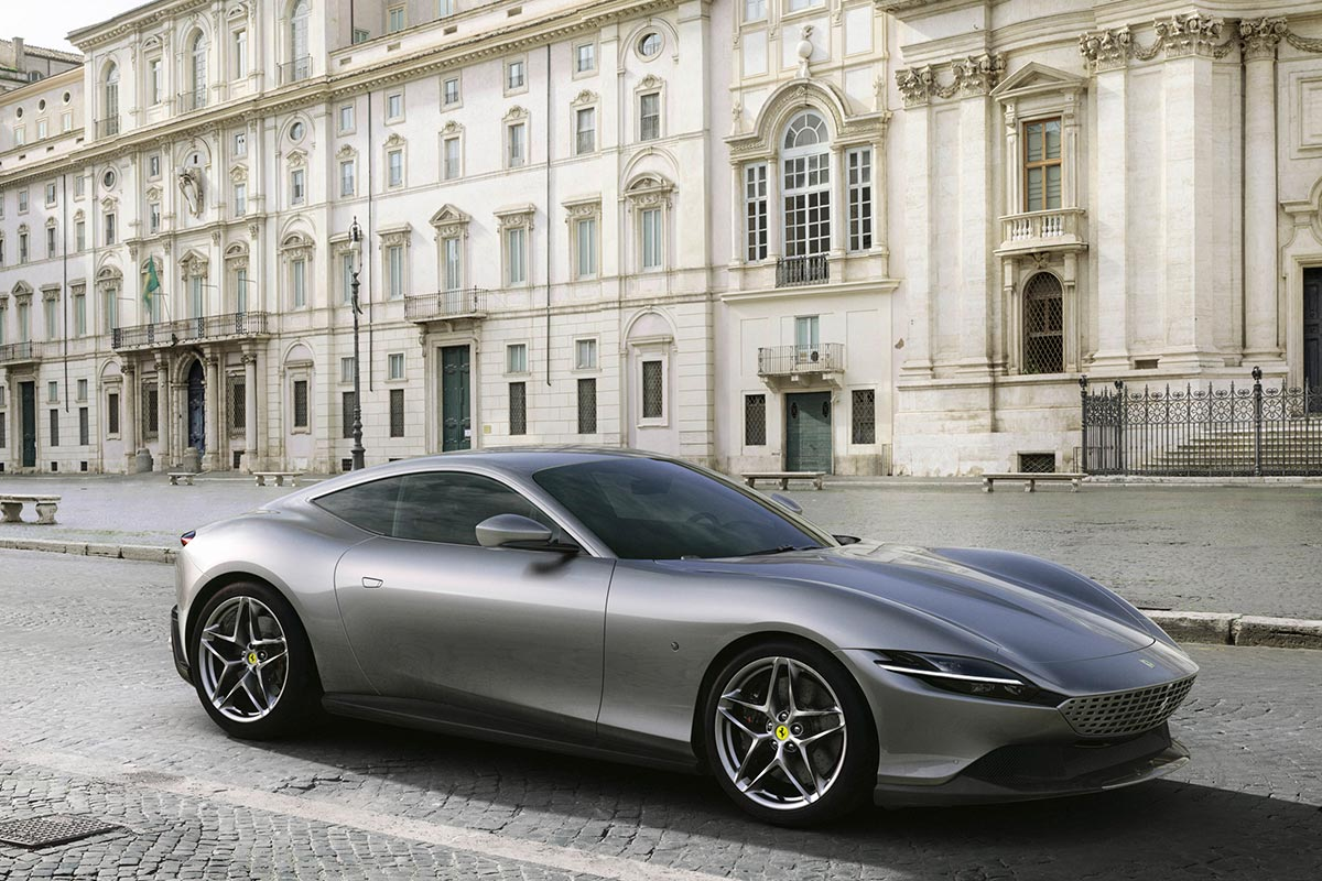 Ferrari Roma,  la belle Italienne