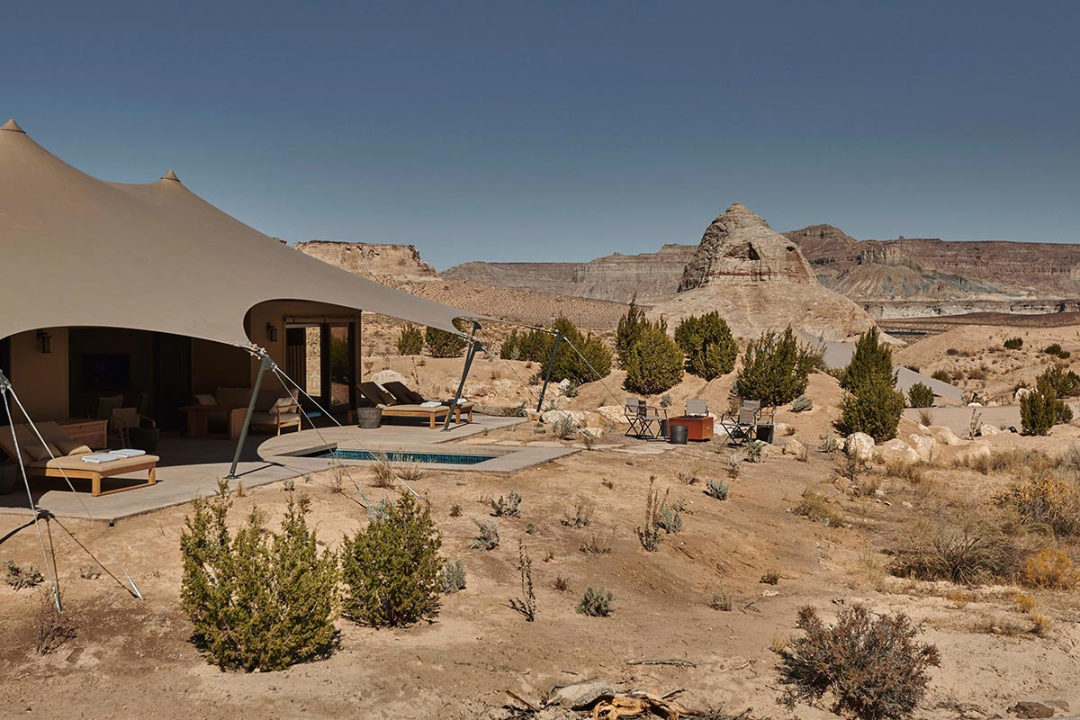 Camp Sarika by Amangiri - USA