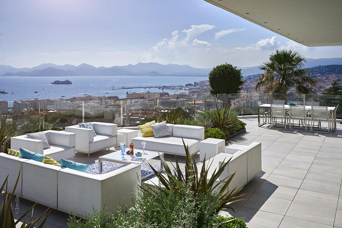 A penthouse in Cannes