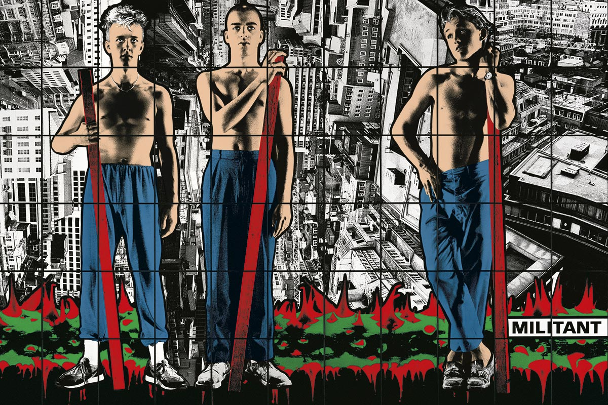 Gilbert & George face to face with Fernand Léger