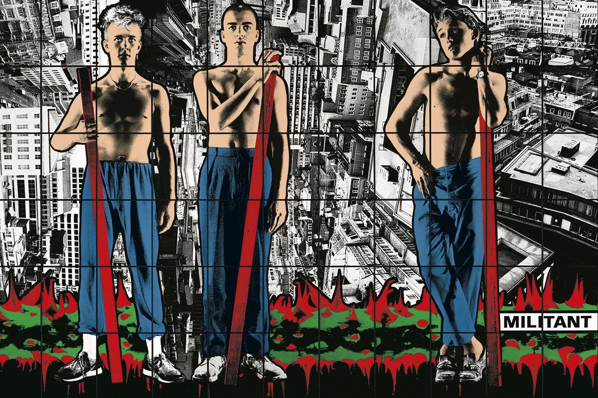 Gilbert & George face à face avec Fernand Léger
