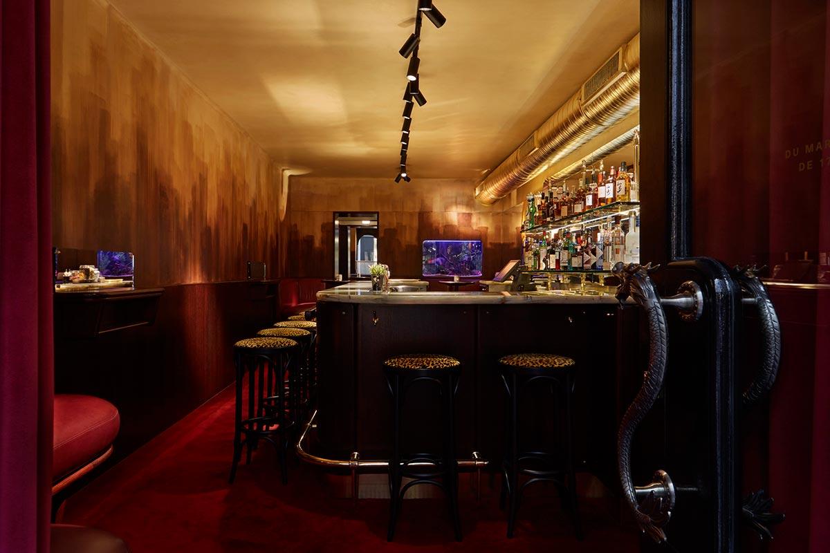 Le bar à cocktails de Cyril Lignac