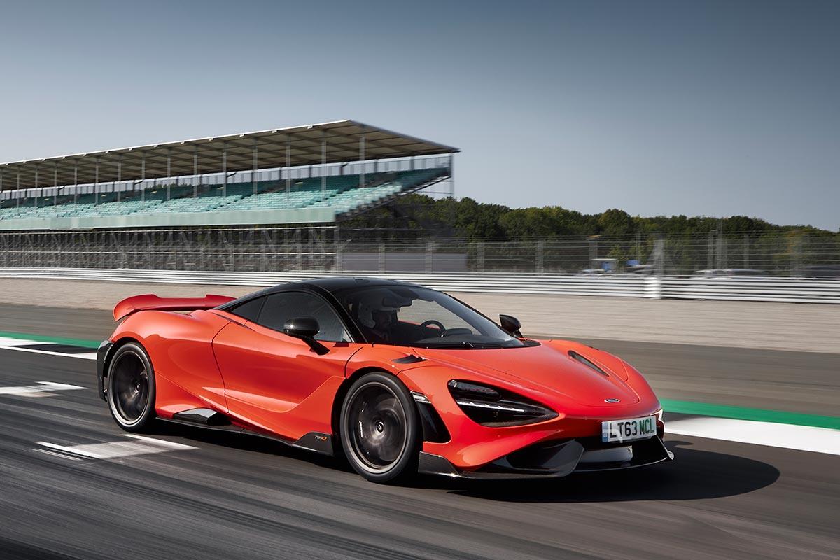 McLaren 765LT,  sensations fortes