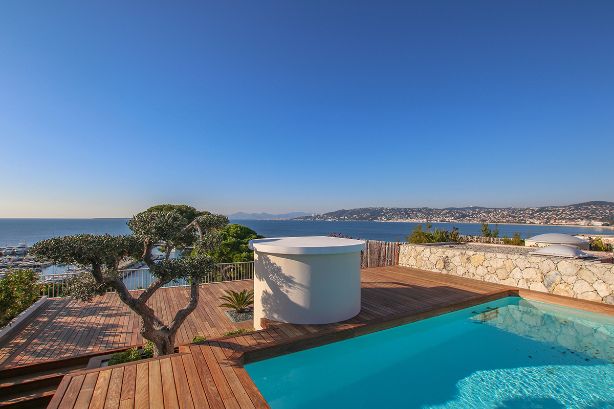 The Monniers and Cap d'Antibes