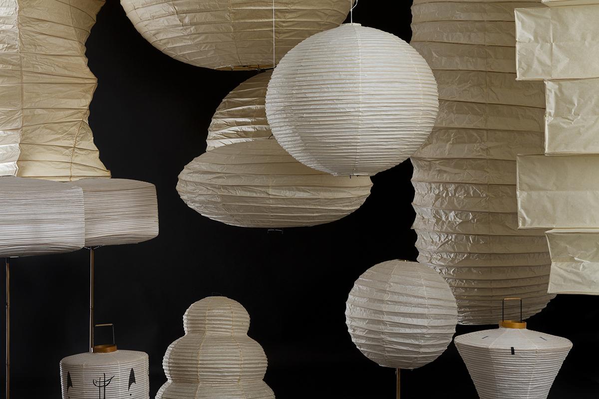 70 ans de lampes Akari à Paris
