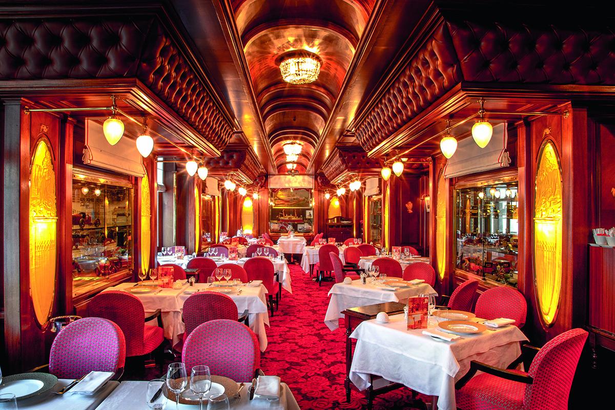 Le Train Bleu redémarre à Monaco