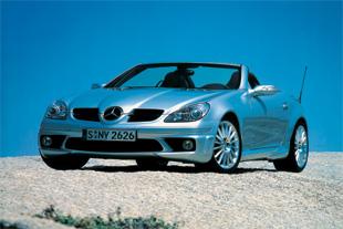 La Mercedes Classe SLK à l'essai