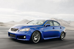 Lexus IS-F - La berline sportive