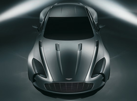 Aston Martin One-77 Unique et haute couture