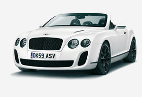 Cabriolet Bentley Continental Supersports