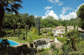 Valbonne, the countryside within easy reach of the towns
