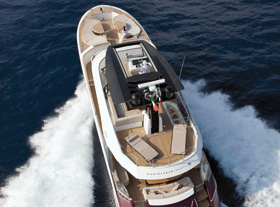 MCY 76, a yacht unlike any other