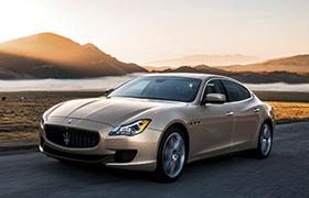 Maserati Quattroporte, la berline de luxe