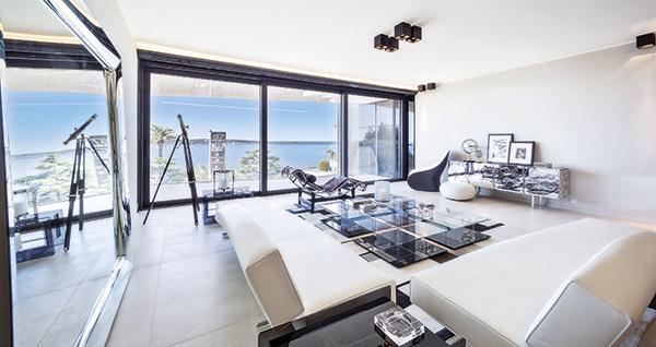 L'appartement  d'exception sur la Côte d'Azur