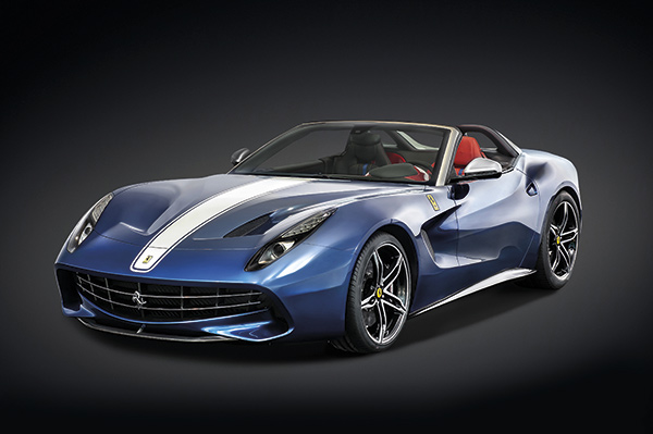 Ferrari F60 America, un anniversaire  en grande pompe !