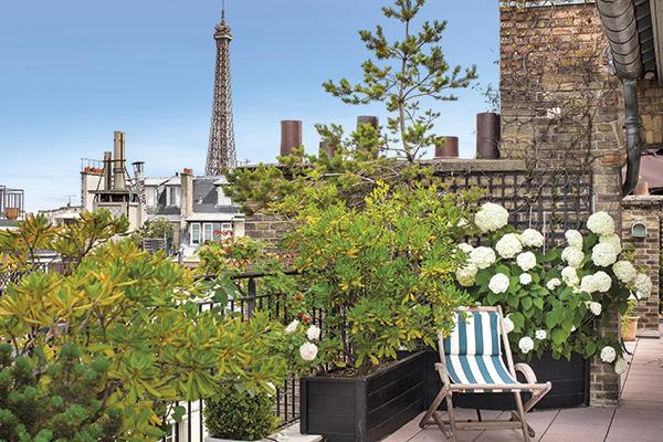 un appartement avec terrasse paris un luxe si d sirable. Black Bedroom Furniture Sets. Home Design Ideas