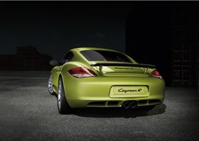 Porsche Cayman R, point de superflu