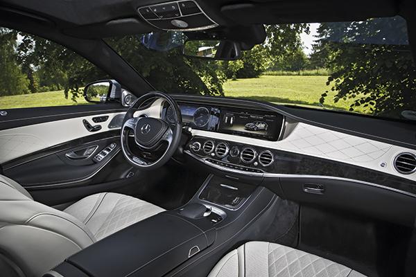 Classe S AMG, limousine haute performance