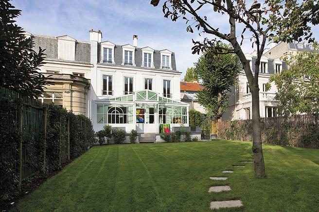 Les h tels particuliers paris - Le jardin de neuilly hotel ...