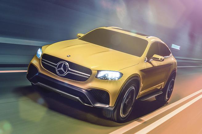 Mercedes GLC Coupé présentation à Shanghai