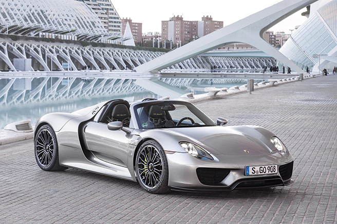 Porsche 918 Spyder, ultra performante